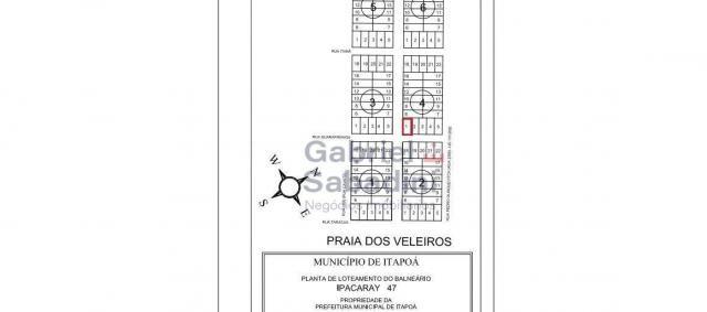 Terreno à venda, 300 m² por r$ 30.000,00 - praia dos veleiros - itapoá/sc - Foto 3