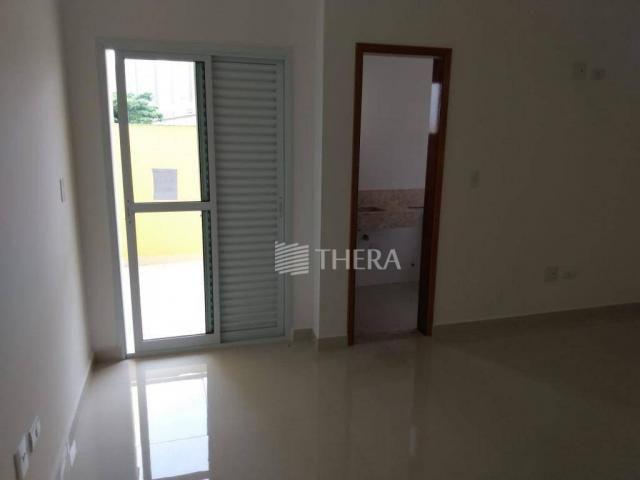 Apartamento com 3 dormitórios à venda, 96 m² por r$ 460.000,00 - campestre - santo andré/s - Foto 9
