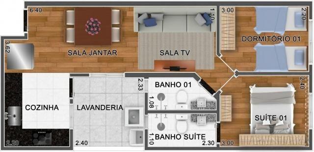 Apartamento à venda com 2 dormitórios em Santa maria, Santo andré cod:56256 - Foto 6