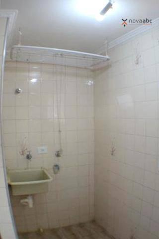 Apartamento com 2 dormitórios para alugar, 50 m² por R$ 1.020/mês - Vila Camilópolis - San - Foto 10