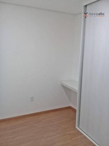 Apartamento com 3 dormitórios para alugar, 85 m² por R$ 2.500/mês - Jardim - Santo André/S - Foto 18