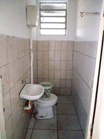 Salão com energia trifásica para alugar, 350 m² por R$ 5.000/mês - Jardim Ana Maria - Sant - Foto 6
