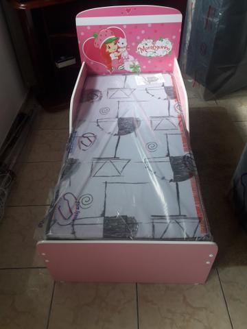 Mini cama nova c/ colchão # entrego montagem grátis - Foto 3