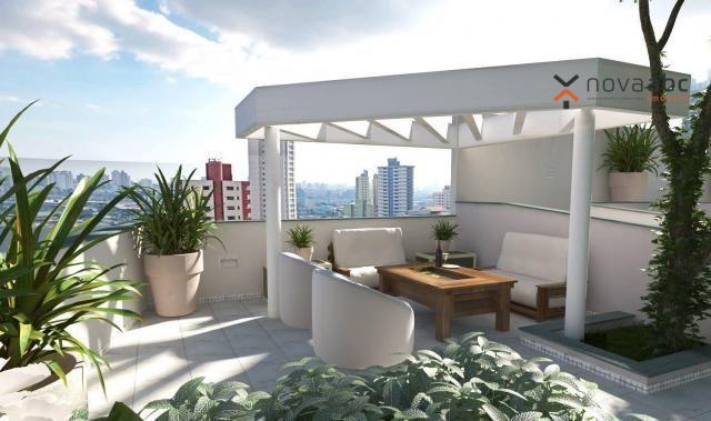 Apartamento com 2 dormitórios e varanda gourmet para alugar, 70 m² em condomínio completo  - Foto 11