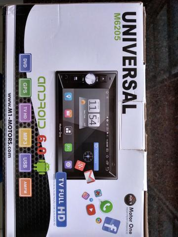Central Multimidia M1 M-6205 (motor one) 2din, gps,tv Full Hd,android 6.0 - Foto 7