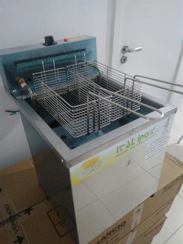 Fritadeira de bancada, 18 litros nova