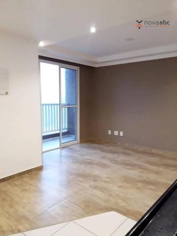Apartamento com 2 dormitórios para alugar, 46 m² por R$ 900/mês - Vila João Ramalho - Sant - Foto 3