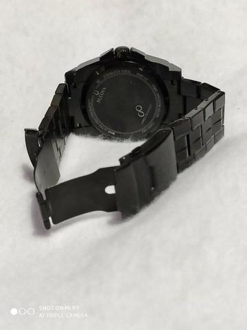 Relógio Bulova Masculino Precisionist Chrono Todo Preto S/s 98B143 Original - Foto 4