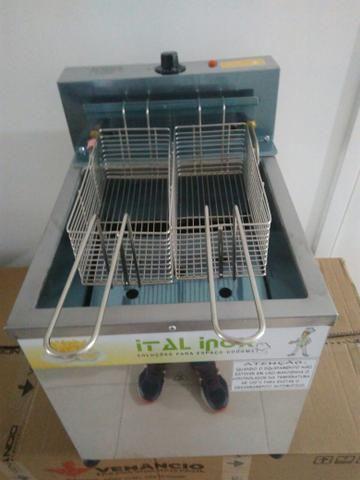 Fritadeira de bancada, 18 litros nova - Foto 3