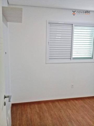 Apartamento com 3 dormitórios para alugar, 85 m² por R$ 2.500/mês - Jardim - Santo André/S - Foto 15