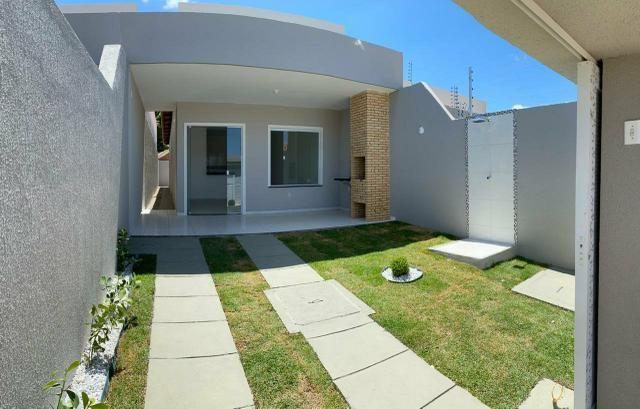 Casa plana no Ancuri de R$ 160.000.00 ja com documentação inclusa(3 Quartos)
