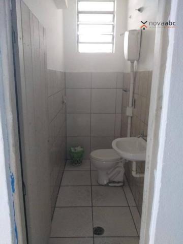 Salão com energia trifásica para alugar, 350 m² por R$ 5.000/mês - Jardim Ana Maria - Sant - Foto 8