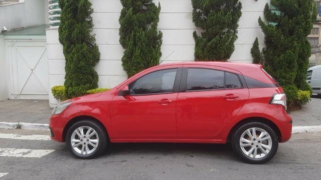 Chevrolet - Agile LTZ 1.4 Flex 2014 Vermelho Completo Super Novo Doc OK - Foto 6
