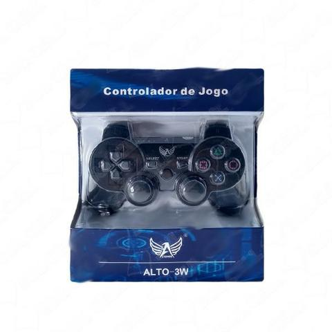 Controle Ps2/Ps3 Dualshock s/ Fio (PS-2-S)