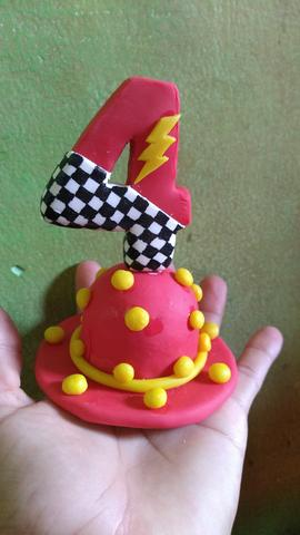 Velas topo de bolo - Foto 2