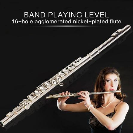 Flauta transversal nova