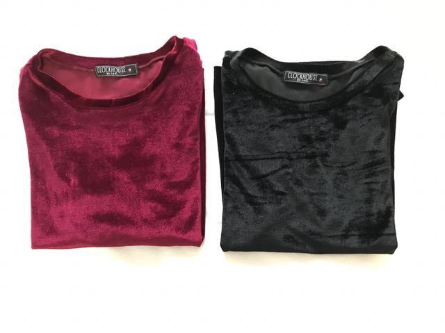 Blusas Camisetas Veludo