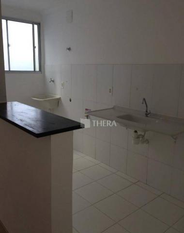 Apartamento com 2 dormitórios para alugar, 47 m² por r$ 1.300/mês - vila homero thon - san - Foto 3