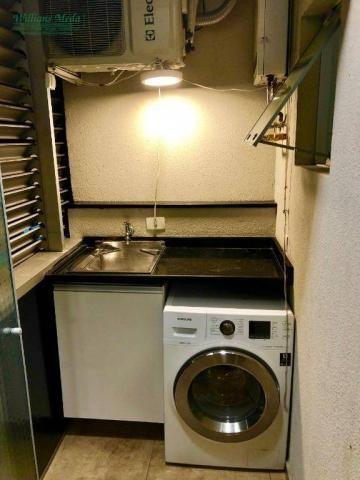 Studio com 1 dormitório para alugar, 36 m² por r$ 1.950/mês - vila augusta - guarulhos/sp - Foto 17