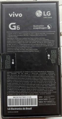LG G6 Platinum - Novo + Nota Fiscal - Foto 6