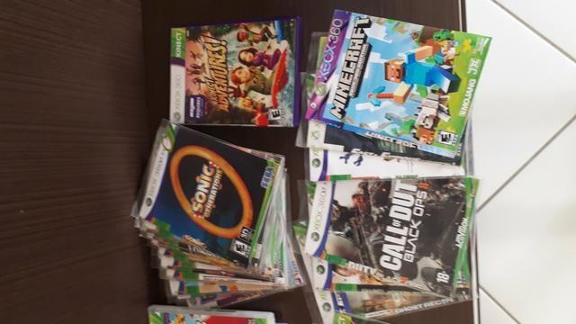 Xbox 360 + Kinect + controles + jogos (destravado) - Foto 3