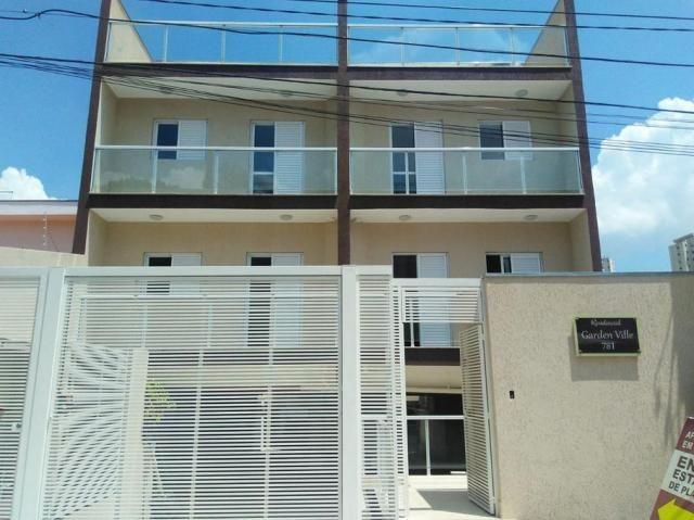 Apartamento à venda com 2 dormitórios em Santa maria, Santo andré cod:60776