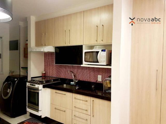 Apartamento com 2 dormitórios para alugar, 50 m² por R$ 1.350/mês - Parque Erasmo Assunção - Foto 8