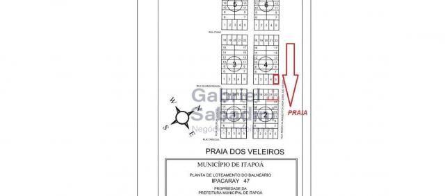 Terreno à venda, 325 m² por r$ 60.000,00 - praia dos veleiros - itapoá/sc - Foto 7
