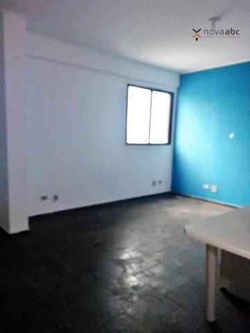 Sala para alugar, 33 m² por R$ 800/mês - Jardim Utinga - Santo André/SP - Foto 3