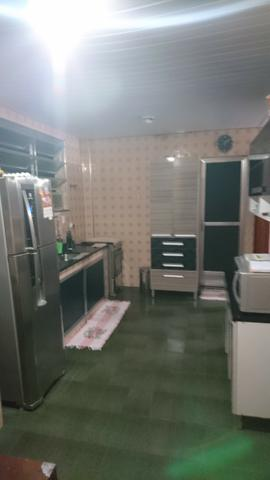 Casa mobiliada + quintal + garagem e ar cond. 12000btus SÓ 1500,00 - Foto 5