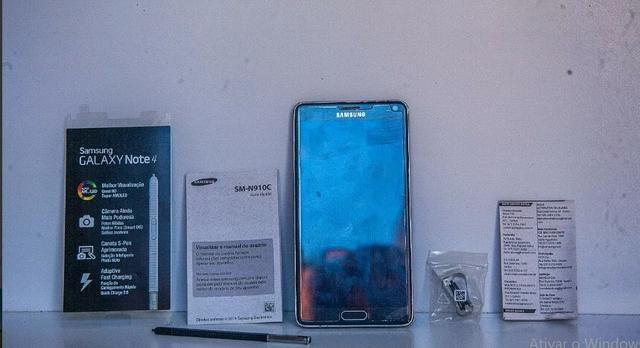Smartphone Samsung Galaxy Note 4 32gb 16mp - Preto Sm N910c