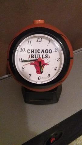 Rélogio vintage original do Chicago Bulls