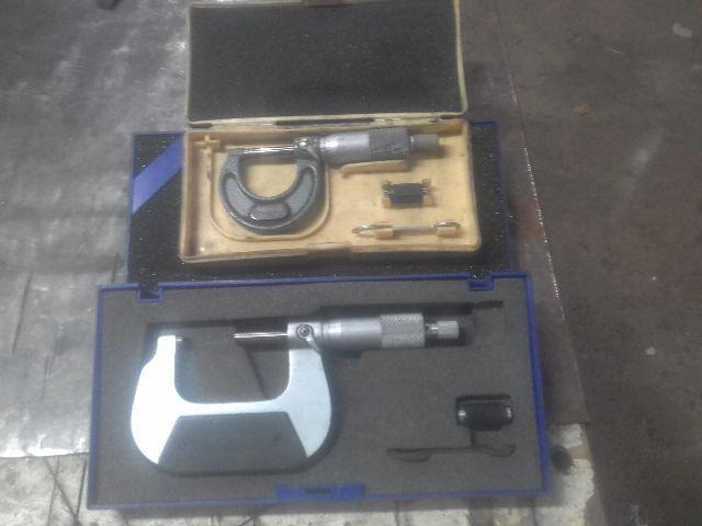 Micrômetros de 25mm e 50mm