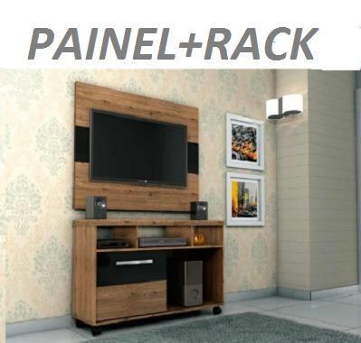 Preço Bom Demais Lindo Kit Painel+Rack(Entrega+Montagem+Instalação)349,00