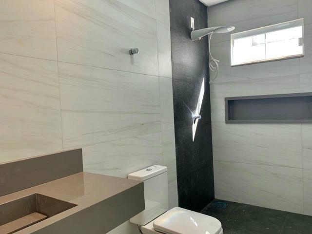 Casa nova 3quartos 3suites piscina churrasqueira rua 12 Vicente Pires condomínio fechado - Foto 7