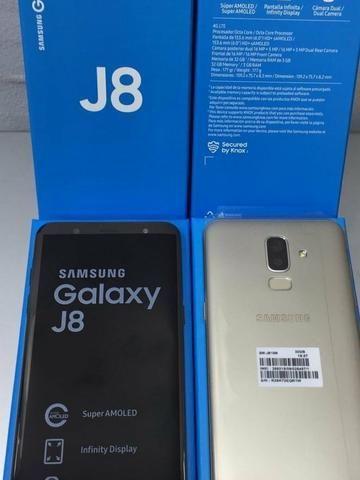 a751155a2a Celular Samsung Galaxy J8 Dual Chip 64gb Tela 6.0 - Celulares e ...