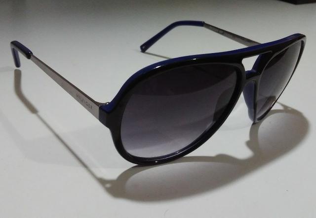 cb4942c69 Óculos De Sol Importado Tommy Hilfiger Rogan Two-Tone Aviator Sunglasses