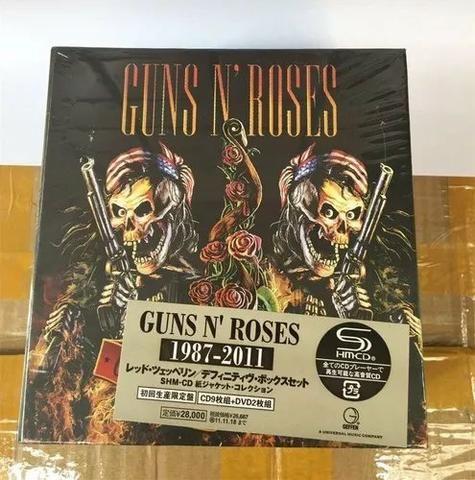 Coleção Guns'n'roses 1987-2011 9 Cds 2 Dvd Box Japan Lacrado - Foto 3