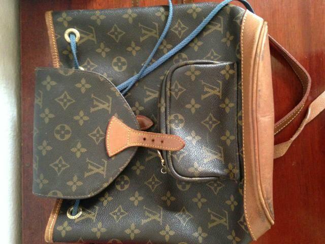 50db47af38 Bolsa mochila Louis Vuitton Montsouris monogram Original - Bolsas ...