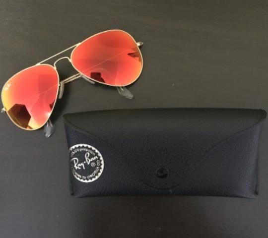 3c5520a5b Óculos Ray Ban aviador espelhado original - Bijouterias, relógios e ...