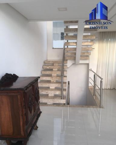 Casa à venda alphaville ii, salvador, r$ 1.650.000,00, armários, 4 suítes, espaço gourmet, - Foto 12