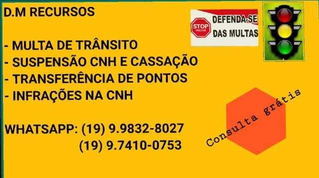 Recursos de multa/suspensão CNH e etc.