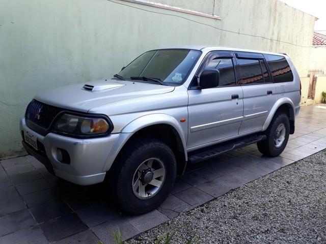 Pajero Sport 2002 diesel 4x4 aut reduzida