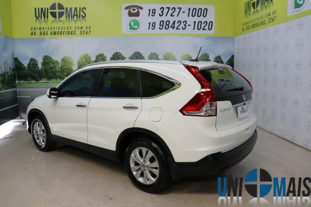 Honda Crv Exl 2014 Automatica Top Linha Flex Teto Solar Muito Nova Apenas 69.900 Lja - Foto 6