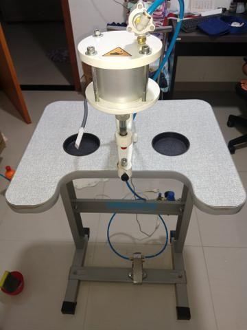 Máquina de prega botão Pneumática Metalnorte - Foto 3