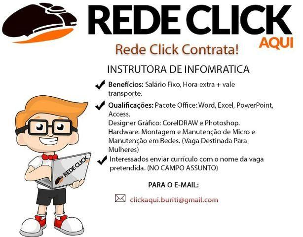 Rede Click Contrata (Instrutora)
