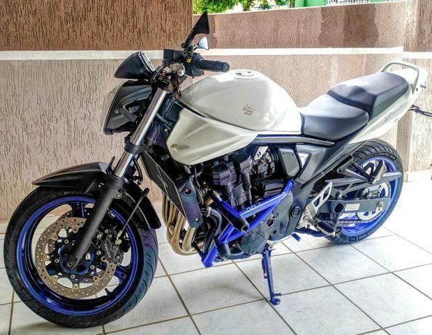 Bandit 650N 2014 - Baixa Km Impecável - IPVA 2020 Pago - Foto 4