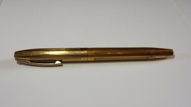 Caneta tinteiro Sheaffer Ouro 23k Anos 50/60 usa - Foto 4