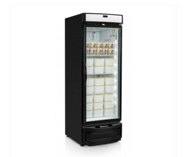 Conservador Vertical para exposição de sorvetes e produtos congelados (fran)
