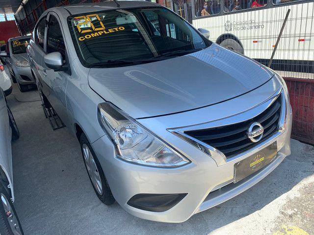 Nissan Versa 2020 + GNV (Único Dono, entrada + 48x 934,00) - Foto 6